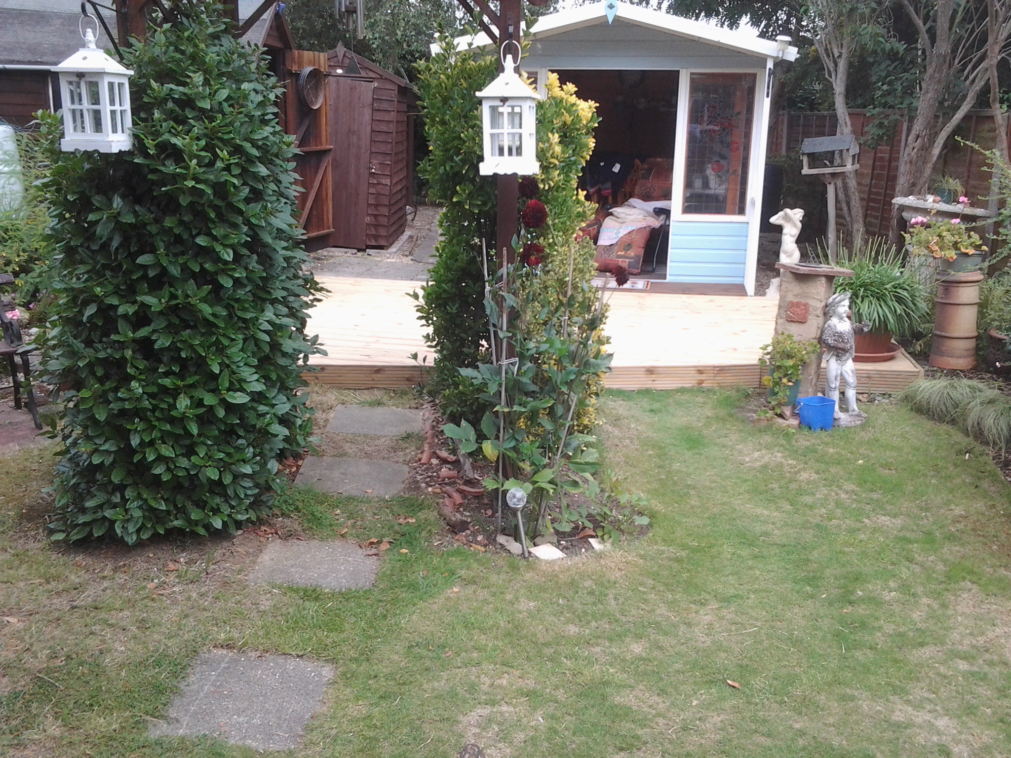 New Decking Westcliff Southend