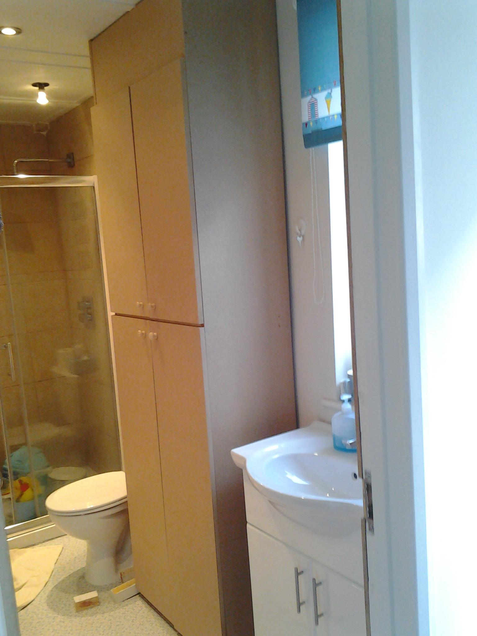 bathroom Cupboard hockley